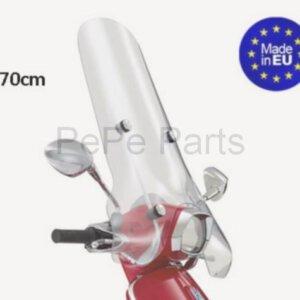 Windscherm Hoog Transparant Vespa Sprint Replica