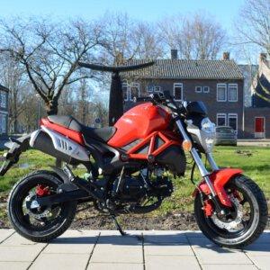 Gomax Dragon 50 Euro4 Naked-bike - Amsterdams Bromfietshuis